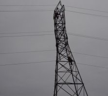 Electrical energy transmission lines